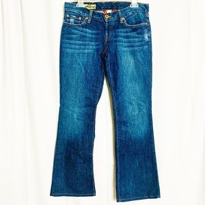 "Lucky Brand Med ""DREAM"" Distressed Jeans Sz 4/27"
